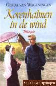 Korenhalmen in de wind