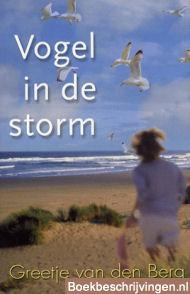 Vogel in de storm
